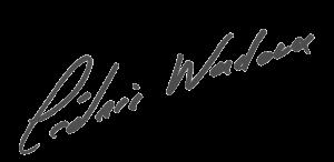 Signature manuscrite de Cédric Wadoux